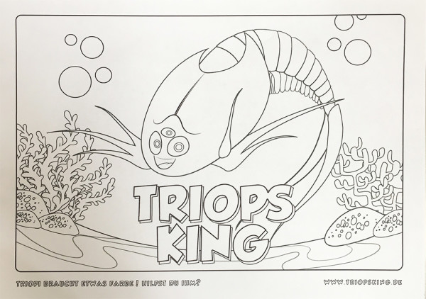 Our Brand new Triopi coloring template for Download - Our Brand new Triopi coloring template for Download
