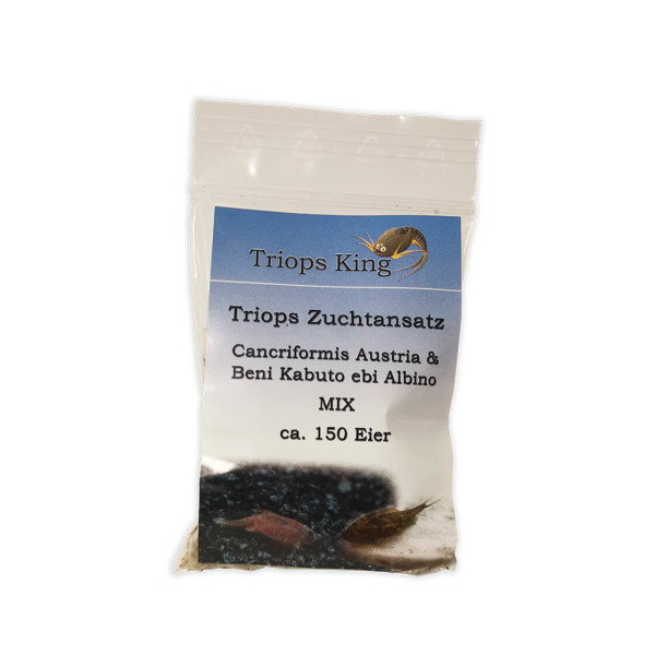 Triops Cancriformis Mix Breeding approach approx. 150 eggs