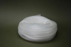 White plastic hose