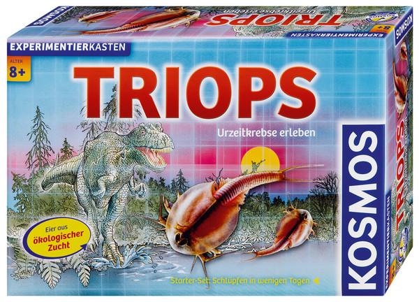 Triops prehistoric crabs experience of cosmos