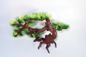 Décoration de bonsaï pour plantes en plastique