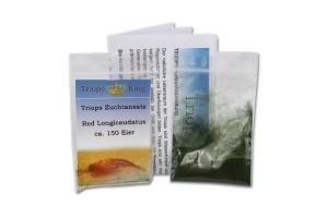 Triops Red Longicaudatus Tadpole Shrimp Starter Kit 50 eggs