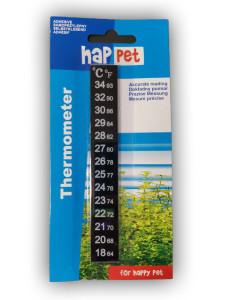Thermomètre adhésif pour aquariums de...