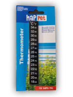 Klebethermometer für Aquarien von Happet 18 - 34 °C