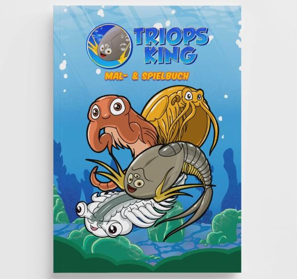 Urzeitkrebse Malbuch & Spielbuch von Triops King