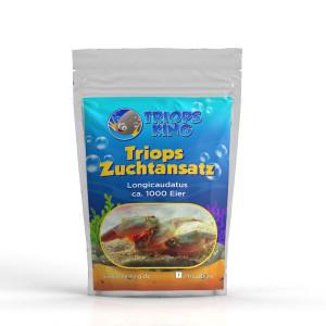 Cría de cría Longicaudatus 1000 huevos