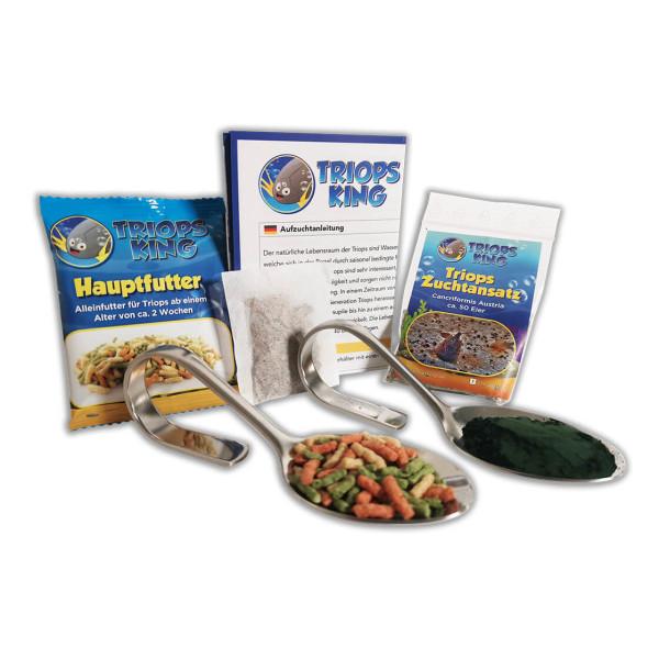 Triops Cancriformis Tadpole Shrimp Starter Kit Plus