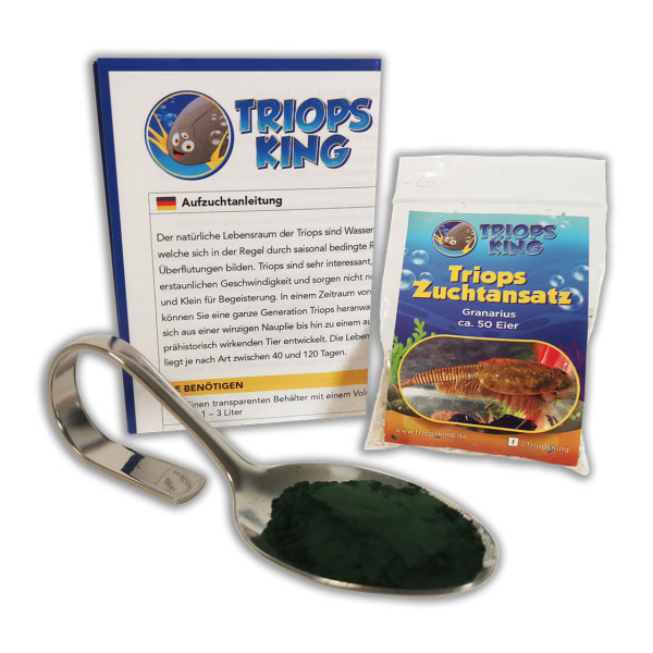Triops Granarius Tadpole Shrimp Starter Kit