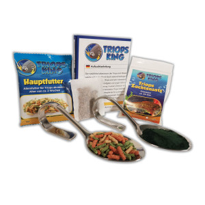 Triops Granarius Tadpole Shrimp Starter Kit Plus