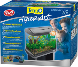 Tetra AquaArt Shrimps Aquarium-Komplett-Set 20L