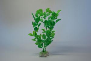 Kunstpflanze 15 cm Aquarium Deko grün