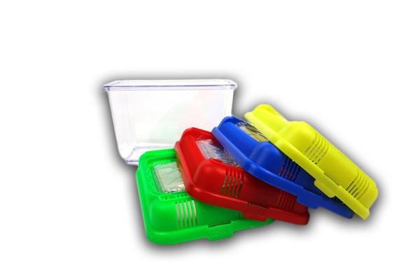 Faunabox / bac délevage pour crevette têtard 18 x 12 x 13 cm rouge