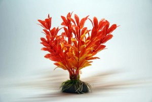 Artificial Plant 10 cm Aquarium Decoration Orange