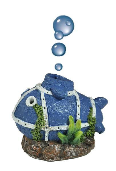 Happet Uboot-Fisch inkl. Luftausströmer